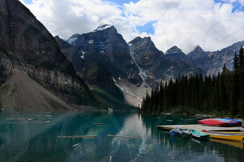 Moraine Lake Canada photo