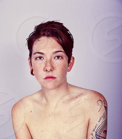 Portrait of Sarah. photo