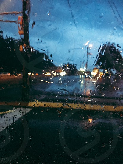 Photo by Isabella Eva, - rain, car, window, road, street, droplets,