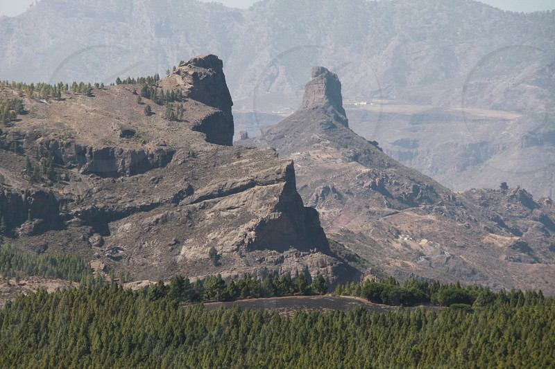 Roque Nublo - Tejeda photo
