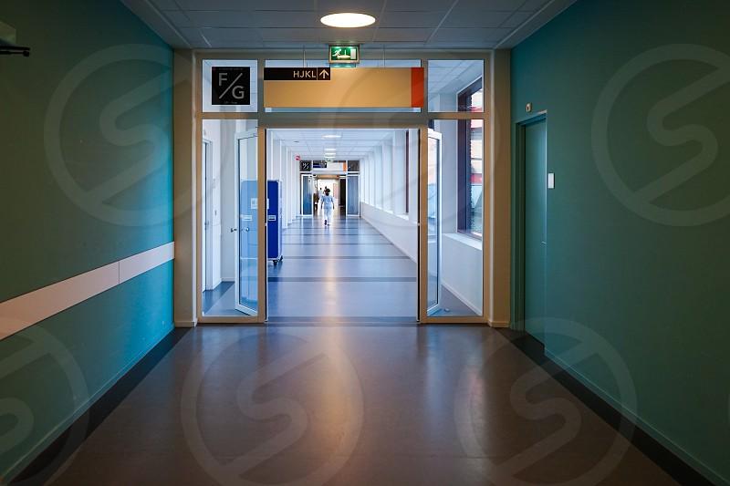 allway in a hospital photo