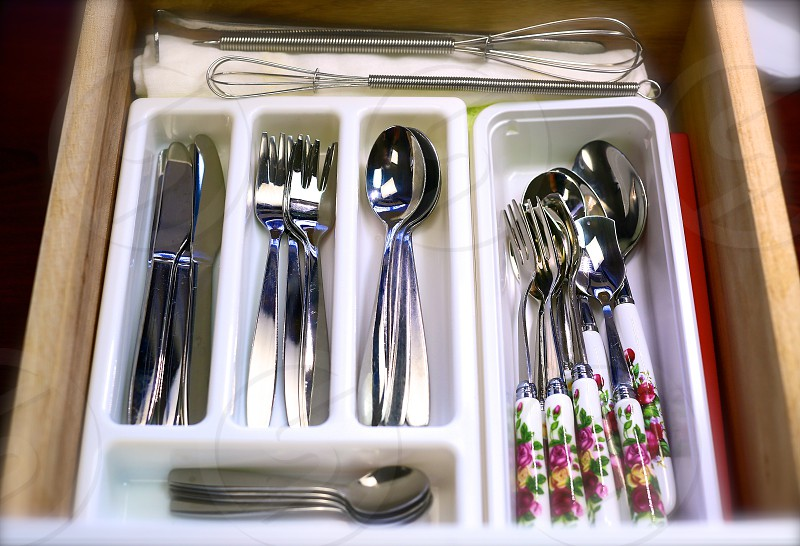 'Rose-Forks & Spoons' (3) photo