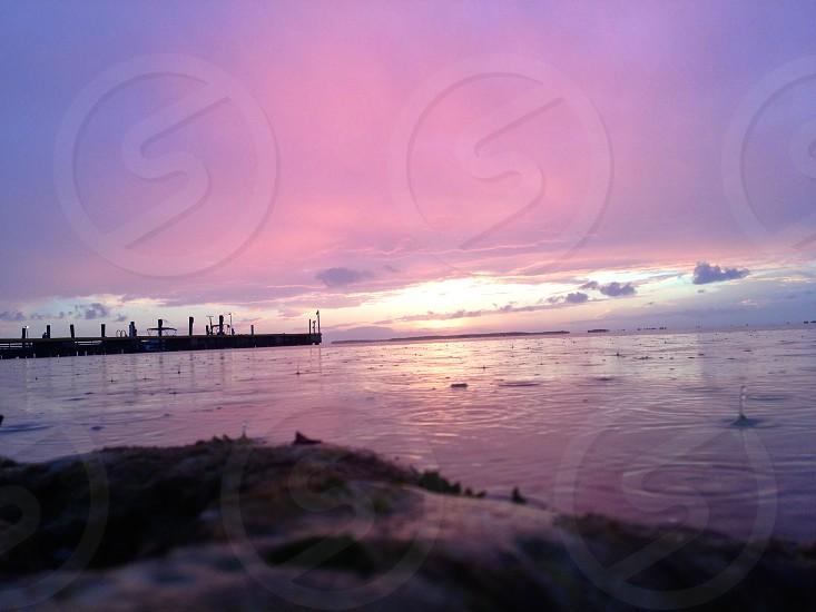 After the Storm - Sunset - Key Largo photo