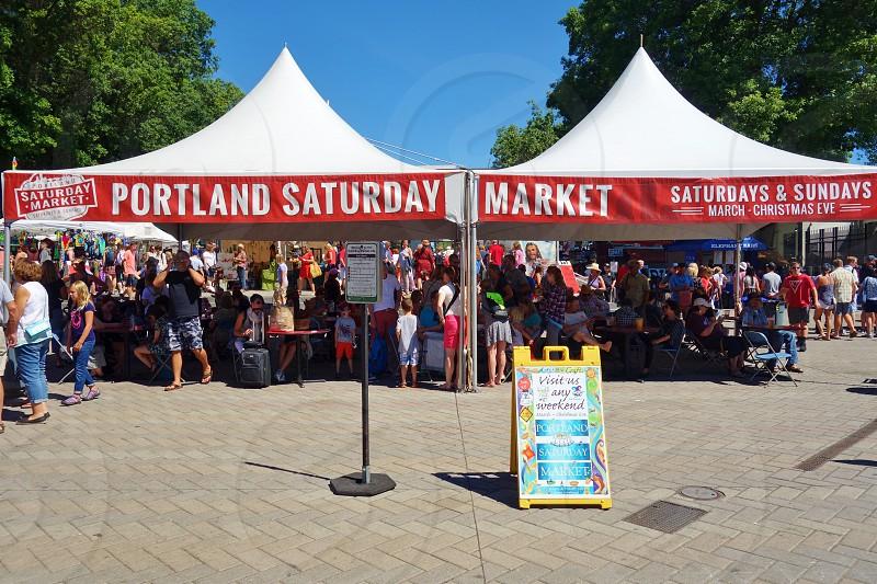 Portland Saturday Markets in Portland Oregon photo