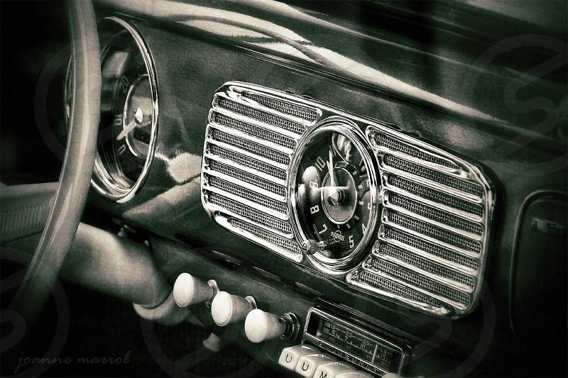Vintage Dashboard  photo