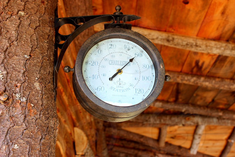Rustic Clock photo