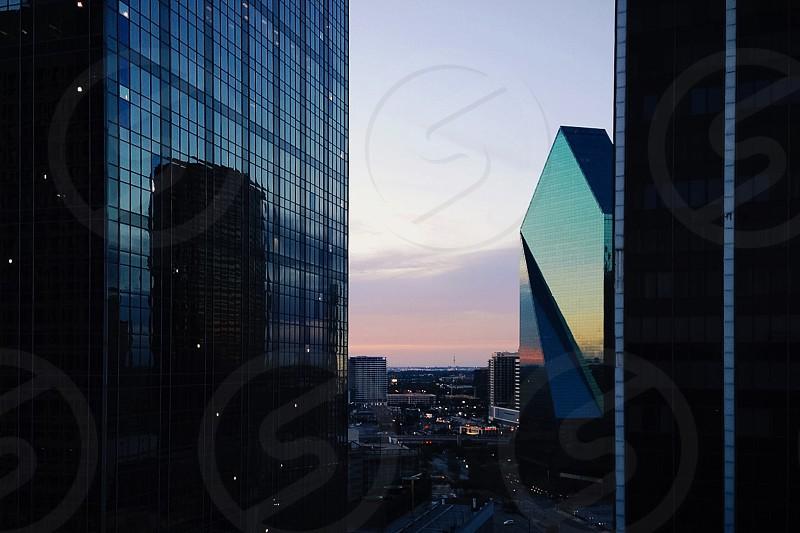 Dusk in Dallas TX photo