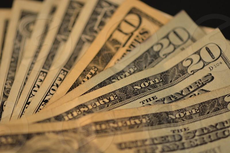 u.s dollar banknote photo