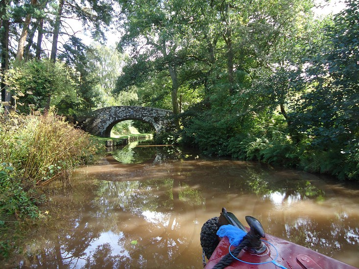 Canal bridge Monmouthshire canal photo
