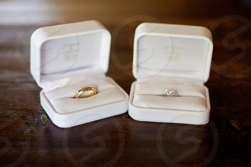 mens gold wedding band photo