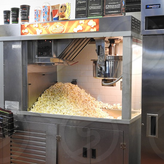 Always have popcorn at the movies photo