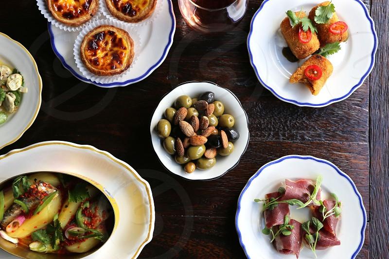 Tapas style small plates at Pestisco. photo