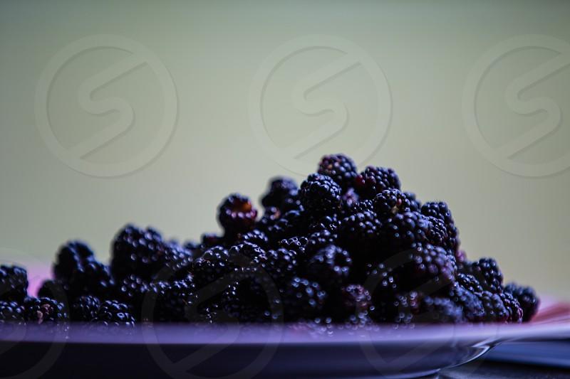 Dewberries fresh fruit photo