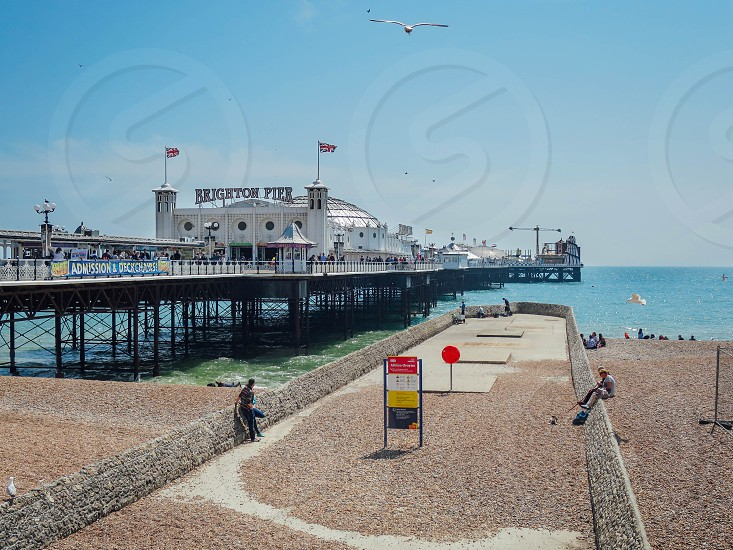 Pictures of Brighton city centre and surrounding areas.  photo