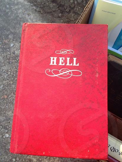 A book found at a garage sale photo