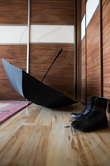umbrella in home photo