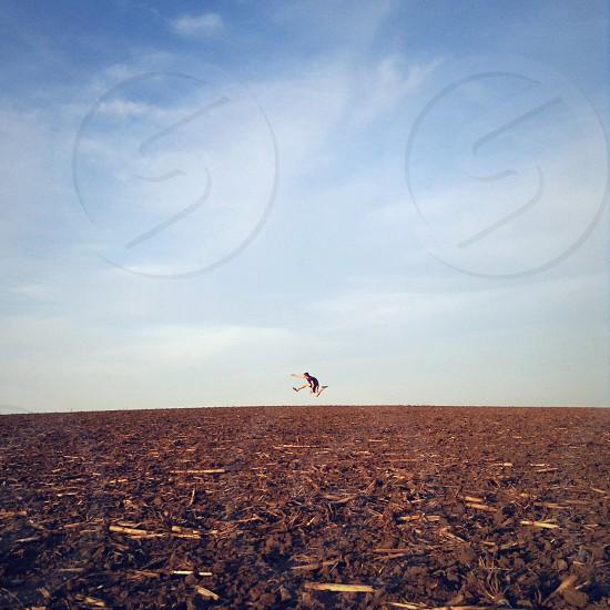 brown field photo