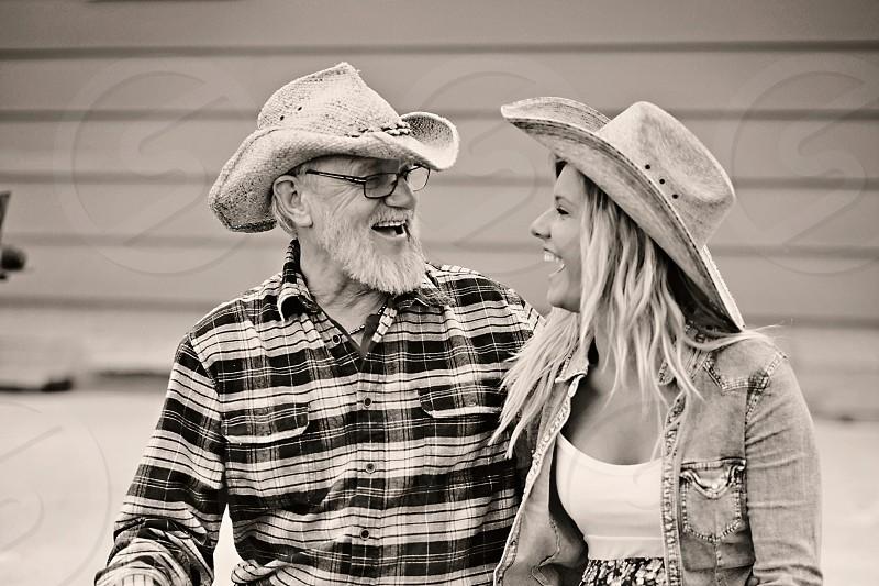Makenna and her grandpa photo