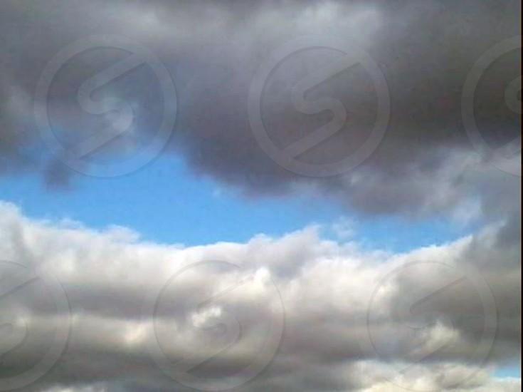 Cloudy skies photo