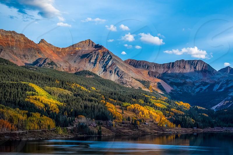Trout Lake Telluride in San Miguel County Colorado. photo