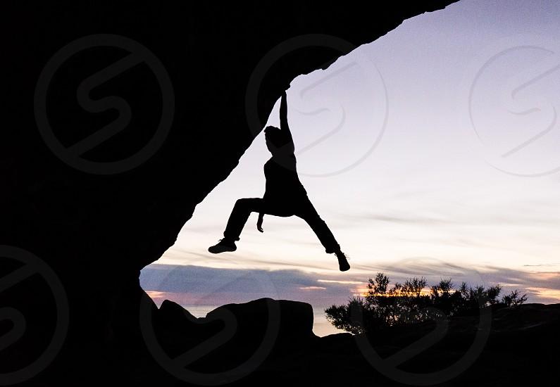Climbing mountains  photo