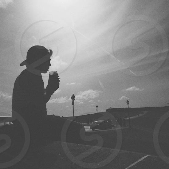 #silhouette #bw photo