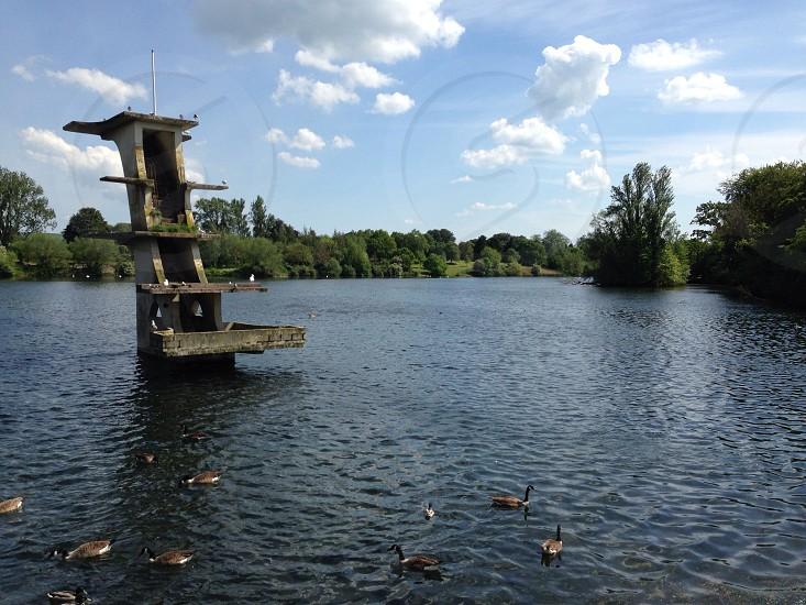 Coate water park in Swindon photo