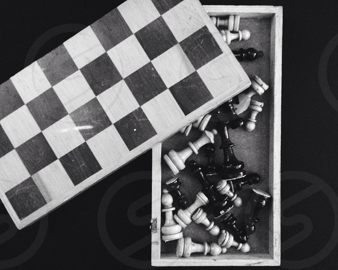 chess board games photo