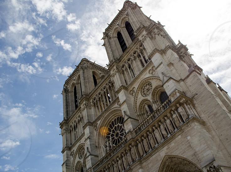Notre Dame Cathedral Paris photo