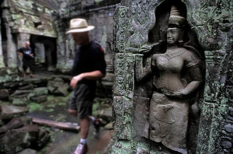 Ta Prohn. angkor. cambodia photo