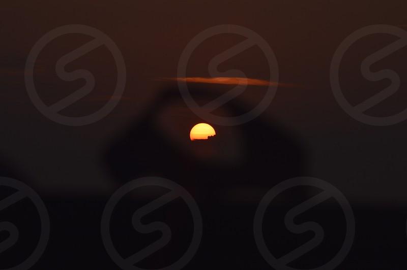 shallow focus of sunrise photography photo