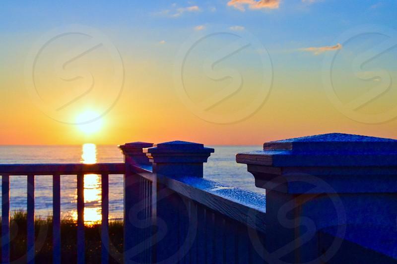 Quidnet Nantucket Massachusetts Institute Sunrise June Morning Summer Ocean photo