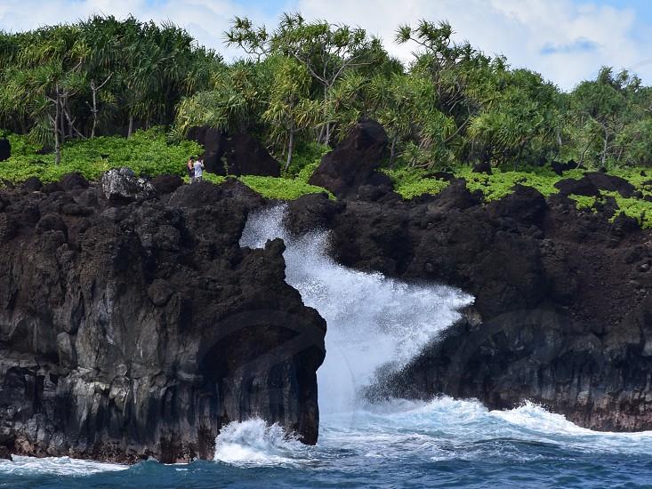 Maui Hawaii island surf  photo