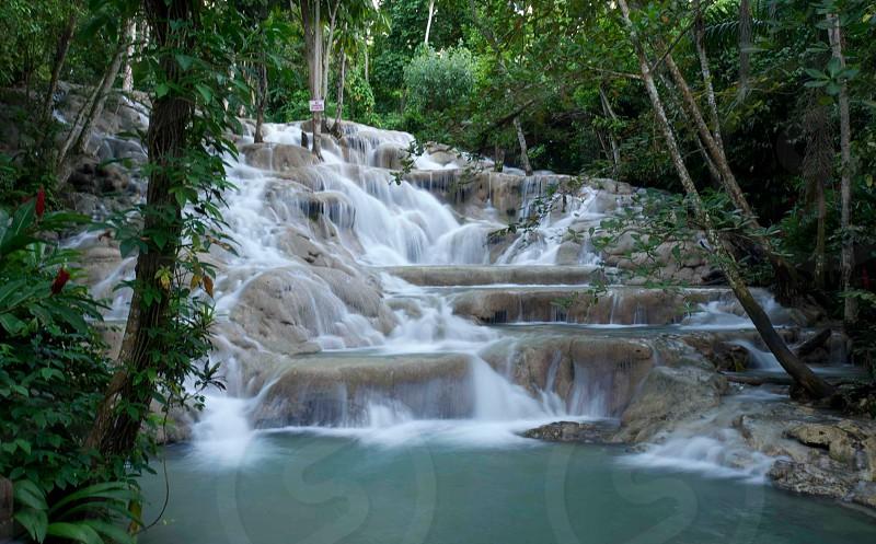 Jamaican Waterfall photo