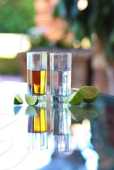tequila silver gold lime natural anejo aged  photo