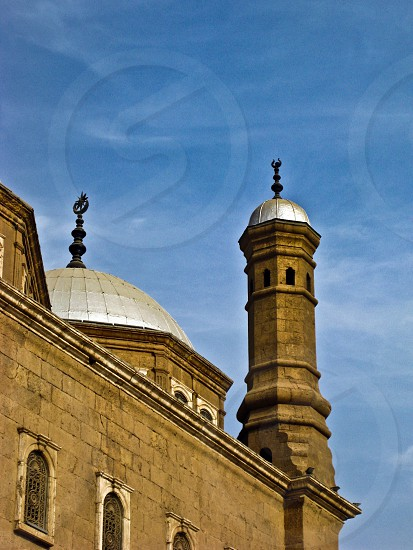 One of Mohamed Ali mosque corners Cairo Egypt photo