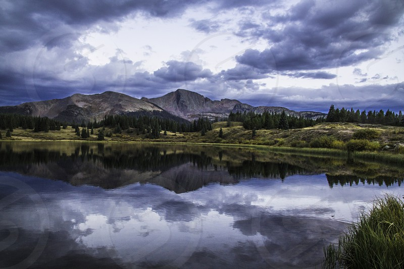 Before the storm around Durango Colorado photo