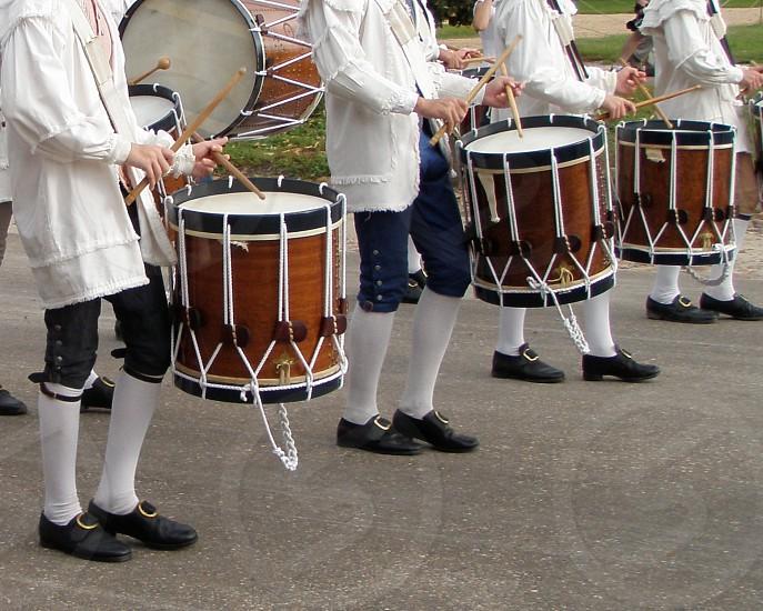 Drummers; Colonial Williamsburg Virginia photo