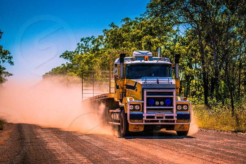Territory Bush Trucker Northern Territory Australia. photo