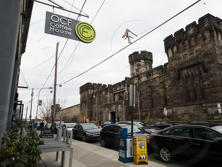 Coffee shops and the Eastern State Penitentiary photo