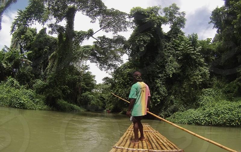 Jamaicaraftingriver photo