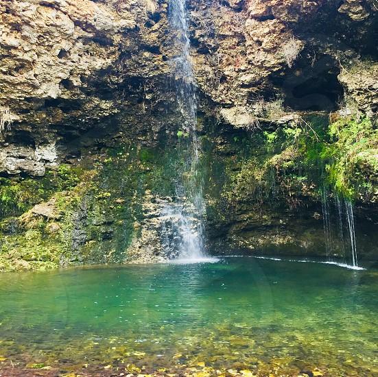 Natural falls photo