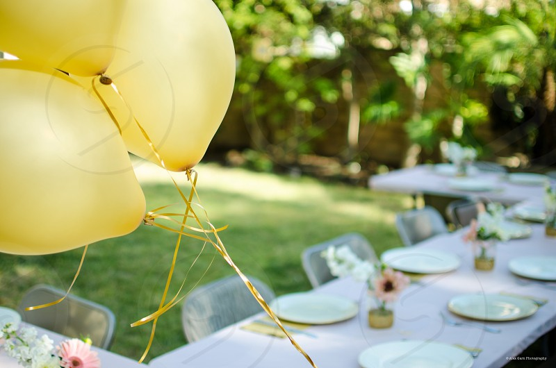 Balloons life wedding essential photo