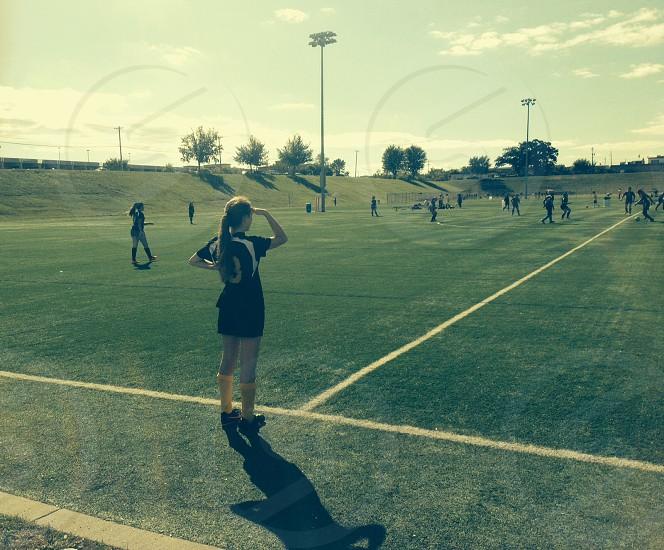 soccer season  photo