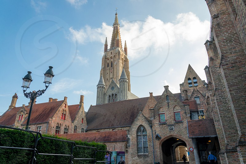 Church of Our Lady in Bruges Belgium photo