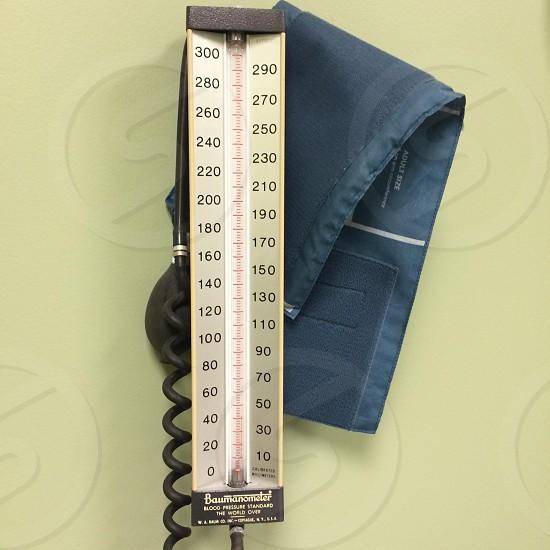 Blood pressure cuff health prevention photo