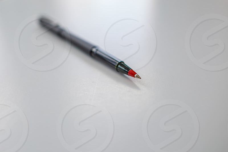 black pen photo