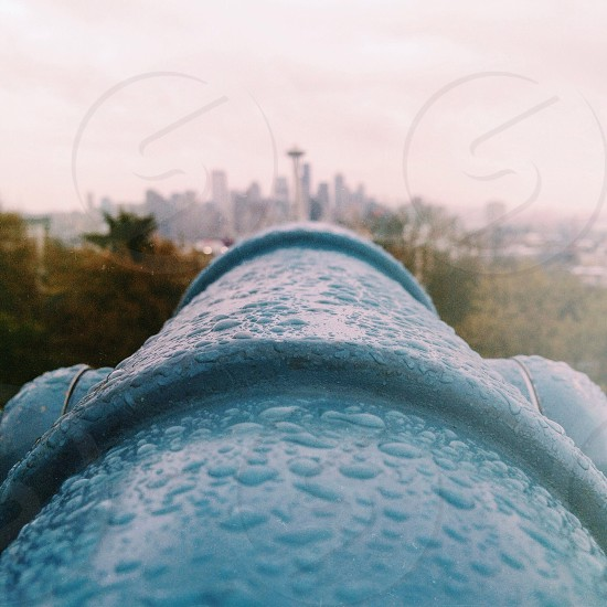 I shot this while at Kerry Park in Seattle. It was a beautiful rainy day. Shot with my iPhone.  photo