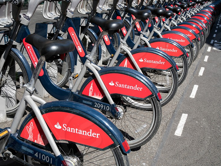 Bikes for Hire in London photo