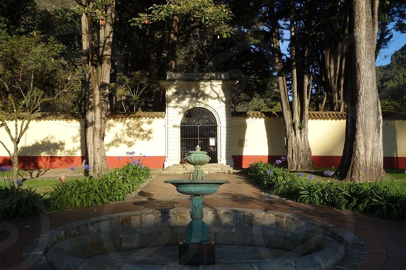 Quinta de Bolivar museum in Bogota Colombia            photo